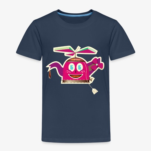 Robots - Teabot - Kinderen Premium T-shirt