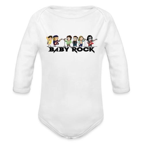 Baby Rock  - Body bébé bio manches longues