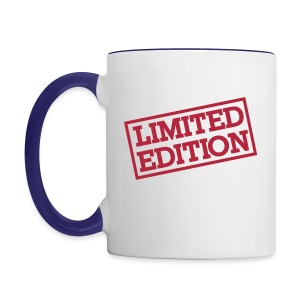 Limited edition smile - Contrasting Mug