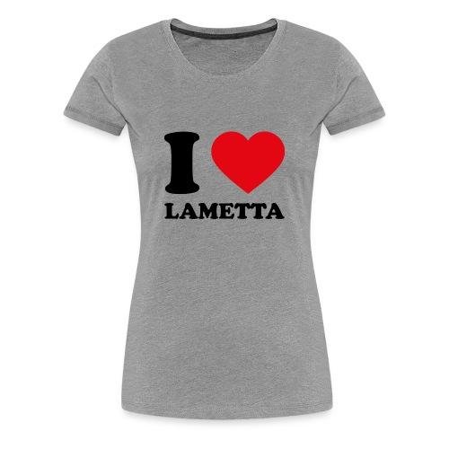 I love Lametta - Frauen Premium T-Shirt