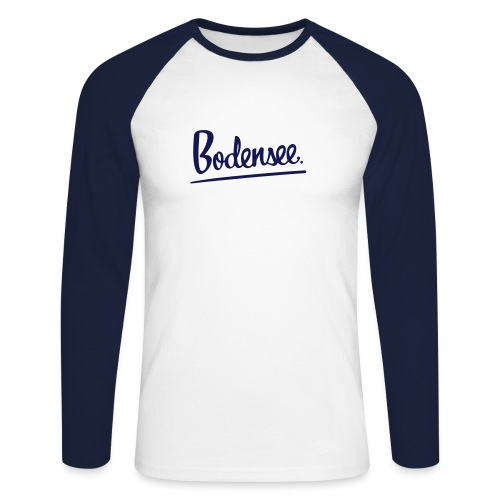 MEN BASEBALLSHIRT Bodensee premium - Männer Baseballshirt langarm