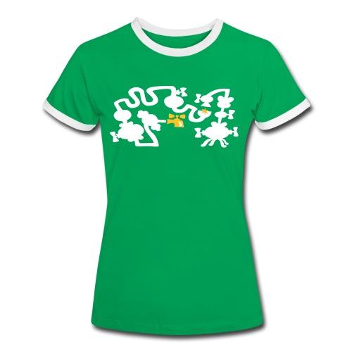 BALTHAZAR T-shirts - Kontrast-T-shirt dam