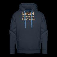 Pullover & Hoodies ~ Männer Premium Kapuzenpullover ~ Lingen Coords Hoody