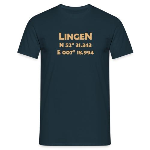 T-Shirt Lingen Coords - Männer T-Shirt