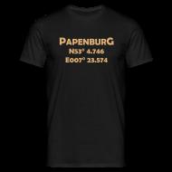 T-Shirts ~ Männer T-Shirt ~ Papenburg Coords T-Shirt