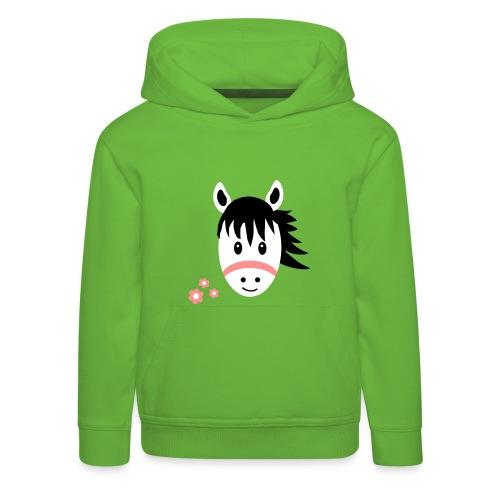 Cute Pony / Horse - Kids' Premium Hoodie
