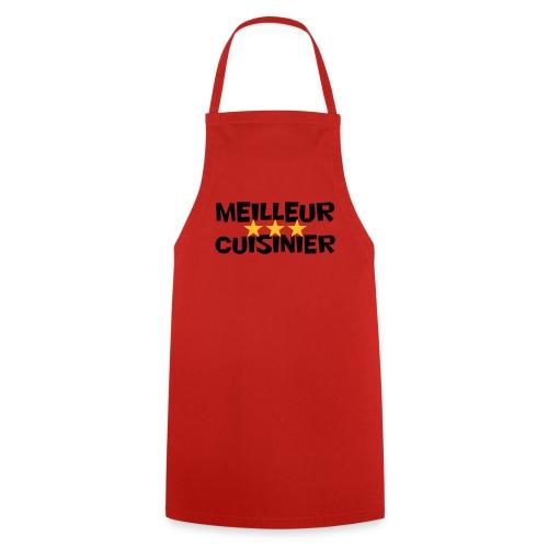 Meilleur cuisinier (rouge) - Tablier de cuisine