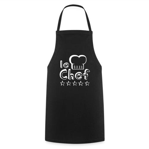 Le Chef (noir) - Tablier de cuisine