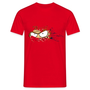 Leperchaun Splatter - Men's T-Shirt