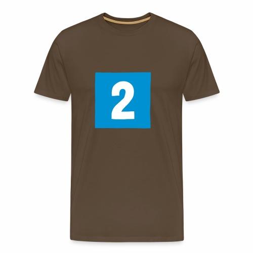 2-mantteli - Miesten premium t-paita