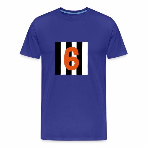 6-mantteli - Miesten premium t-paita