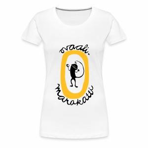 Ovaalimarakatti - Naisten premium t-paita
