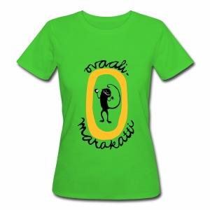 Ovaalimarakatti - Naisten luonnonmukainen t-paita