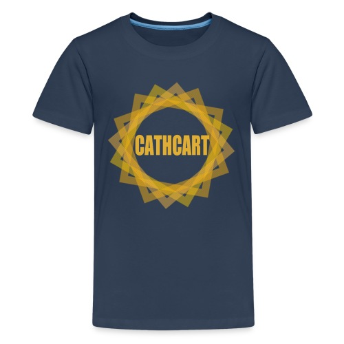Cathcart Circle - Teenage Premium T-Shirt