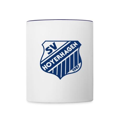 Kaffebecher mit SVH-Logo - Tasse zweifarbig