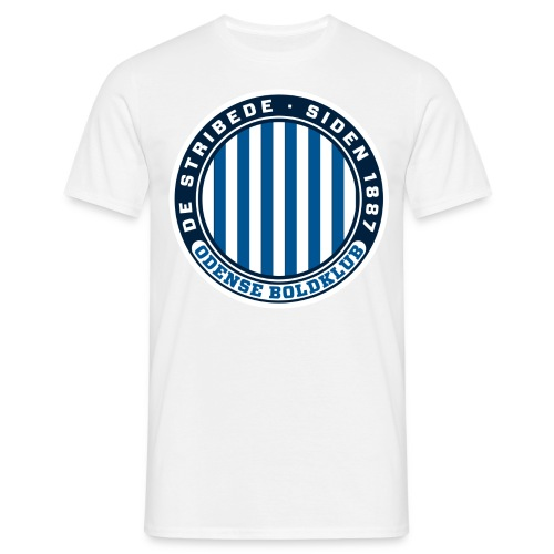 De Stribede Tee - Herre-T-shirt