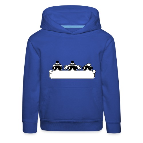 kinder snowboard sweater - Kinderen trui Premium met capuchon