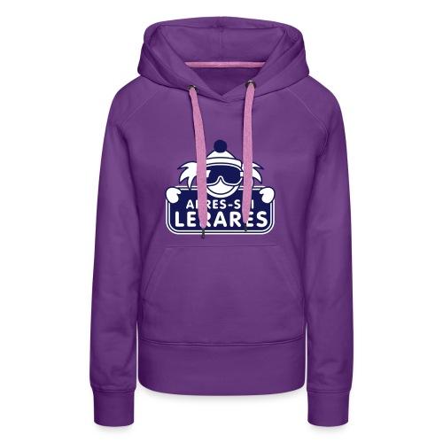 apres ski lerares - Vrouwen Premium hoodie