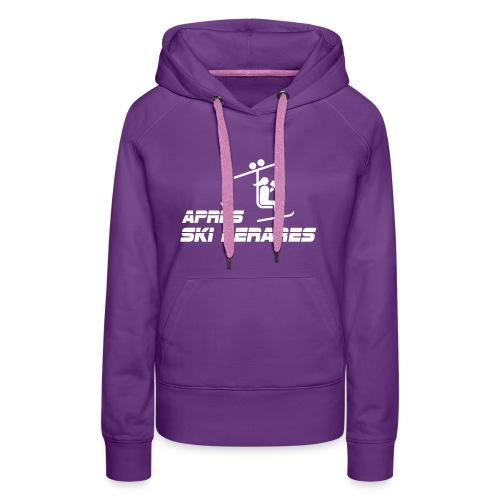 apresski lerares - Vrouwen Premium hoodie