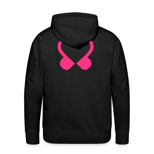 Hoodie HEREN (zwart) - Mannen Premium hoodie