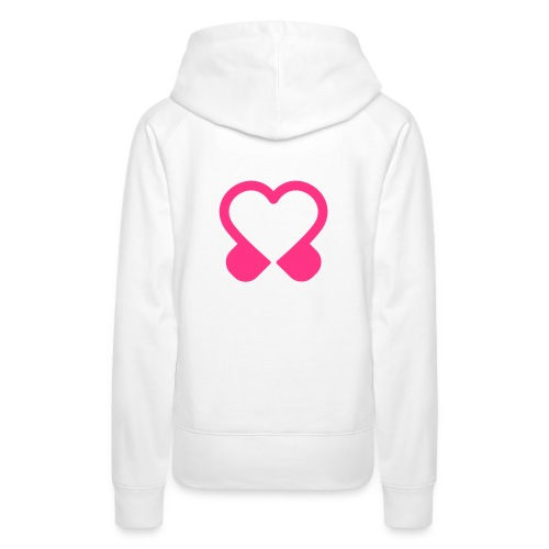 Hoodie DAMES (wit) - Vrouwen Premium hoodie