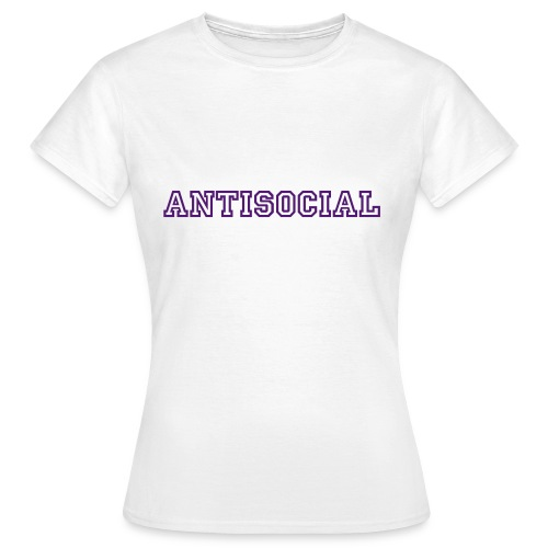 Antisocial Tee  - Women's T-Shirt
