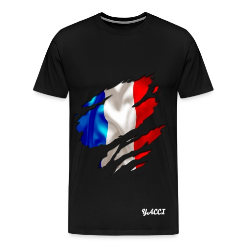 Tee-shirt yacci Basic France - T-shirt Premium Homme