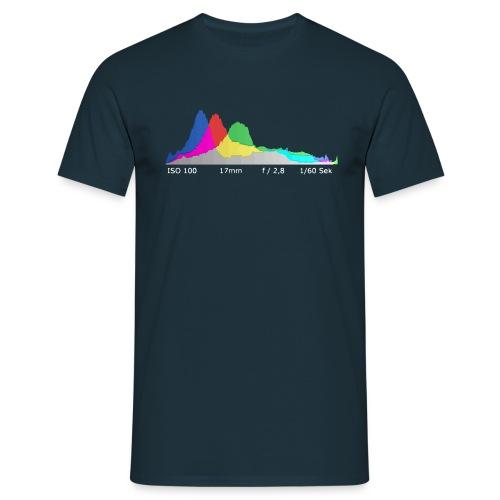 T-Shirt Histogramm - Männer T-Shirt
