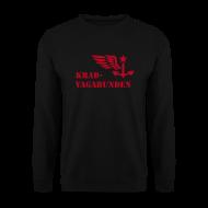 Pullover & Hoodies ~ Männer Pullover ~ Pulli Männer: Logo + Schriftzug (roter Aufdruck)