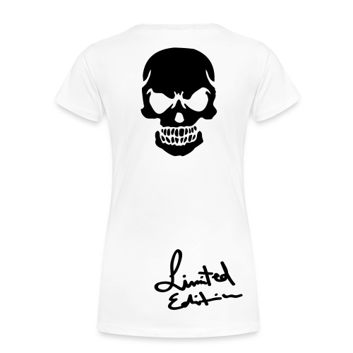 Ladies Limited Addition FRESH Skull Tee - Women's Premium T-Shirt