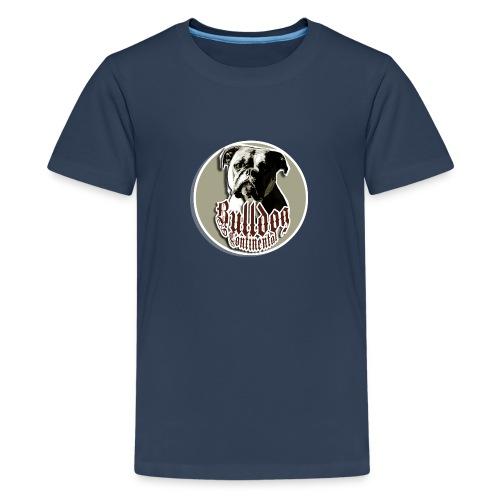 CONTINENTAL BULLDOG // KINDER - Teenager Premium T-Shirt