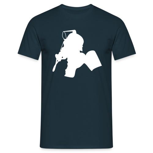Shirt Atemschutz (Brust) - Männer T-Shirt