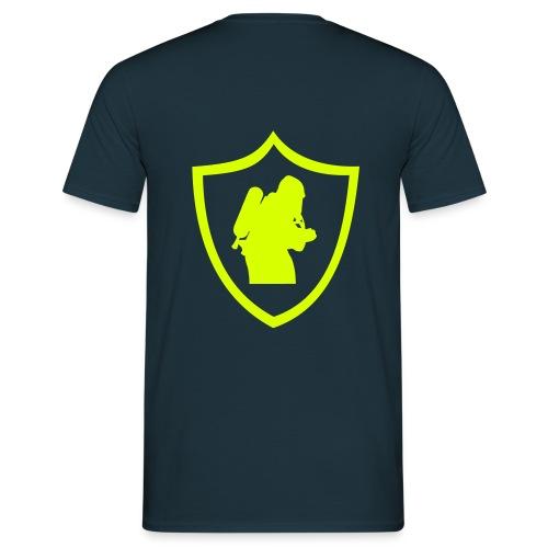 Shirt Atemschutz (Rücken) - Männer T-Shirt