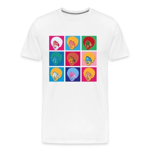 Bob-Art - Mannen Premium T-shirt