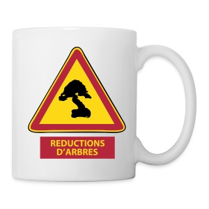 Mug Réduction d'Arbres - Tasse