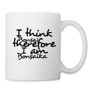 Mug I Think Bonsaï - Tasse