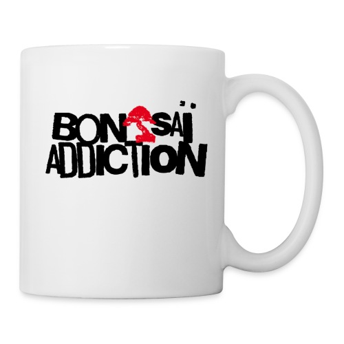 Mug Bonsaï Addiction - Mug blanc