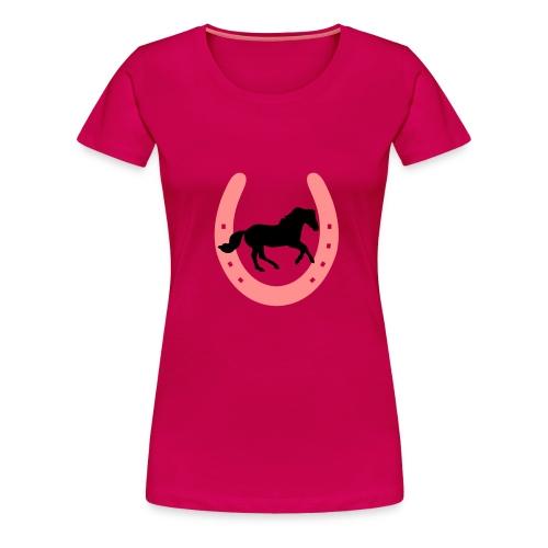 Tee-shirt avec fer à cheval - T-shirt Premium Femme