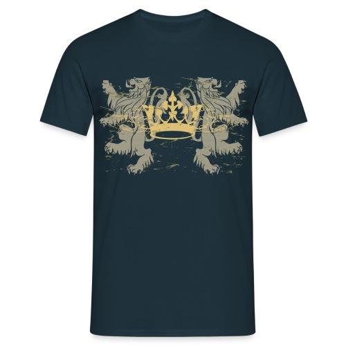 Majestic King  - Männer T-Shirt