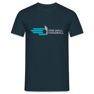 One Wall Handball Souvenir Shirt Dutch Open 2013 - Mannen T-shirt