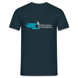 One Wall Handball Souvenir Shirt Dutch Open 2013 - Mannen T-shirt