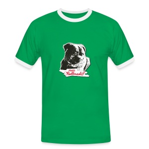 MEIN BULLMASTIFF // MÄNNER - Männer Kontrast-T-Shirt