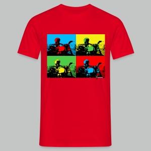Angeland Thrills Pop Art - Men's T-Shirt