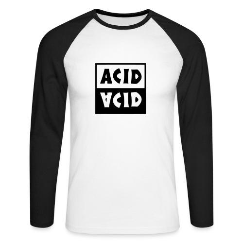 Acid acid - T-shirt baseball manches longues Homme