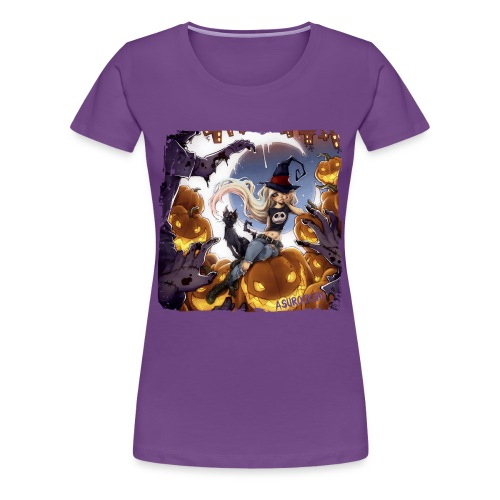 RoRo Halloween Shirt (bis 3XL) - Frauen Premium T-Shirt