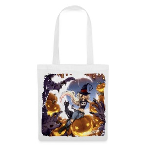 RoRo Halloween canvas bag - Stoffbeutel