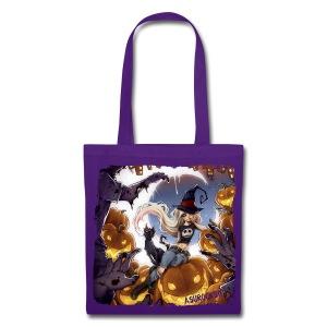 RoRo Halloween canvas bag - Stoffbeutel