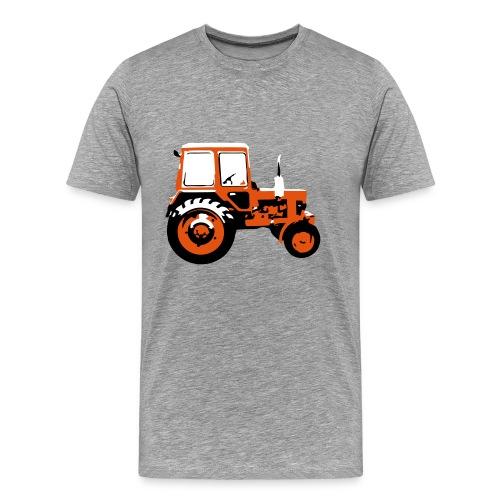 Tractor - the classic soviet MTZ - Men's Premium T-Shirt