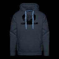 Pullover & Hoodies ~ Männer Premium Kapuzenpullover ~ Mops Hoodie