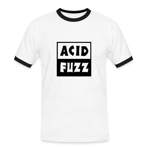 Acid Fuzz white - T-shirt contrasté Homme